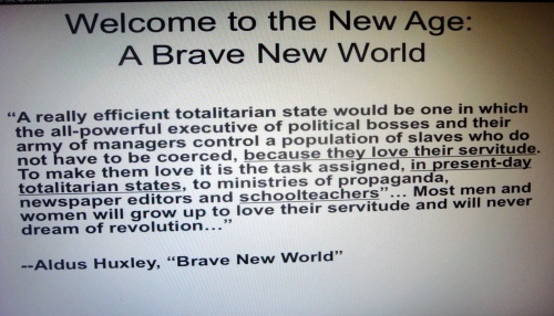 Aldous Huxley Brave New World