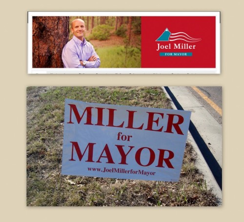 Picture of Mayoral Candidate Joel Miller